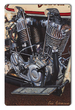 Hot Rods by Eric Herrman Metal Sign