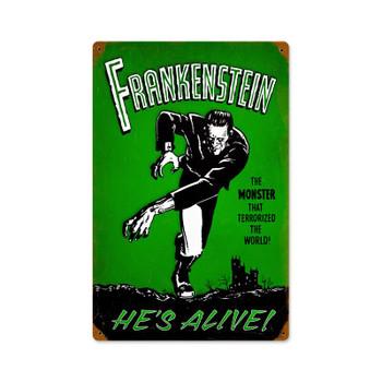 Frankenstein He's Alive