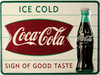 Coca-Cola Tacker Sign (discontinued)