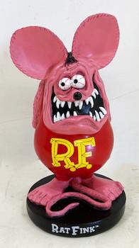 Pink Rat Fink Standing Statue