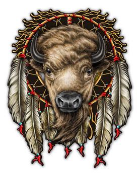 Buffalo Dreamcatcher Sign