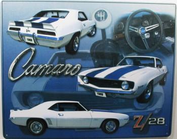 Camaro Z-28 Metal Sign