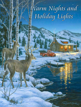 Warm Nights Holiday Lights by Darrell Bush