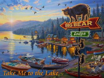 Take Me to the Lake by Darrell Bush