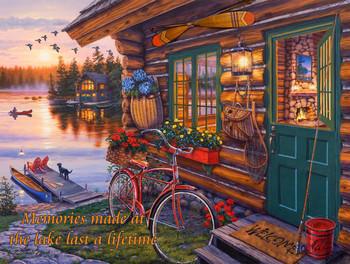 Memories Made at the Lake  by Darrell Bush