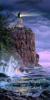 Guiding Light Lighthouse by Darrell Bush