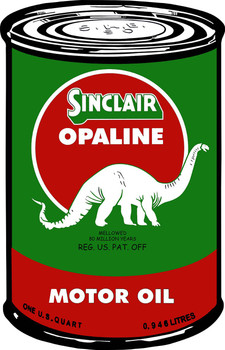 Sinclair Motor Oil Can