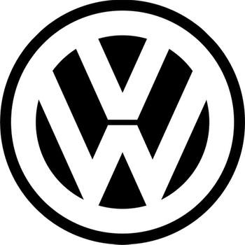"""VW  14"""" round Metal Sign"""