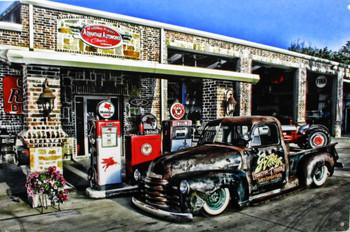 Advantage Autoworks / Pickup Metal Sign