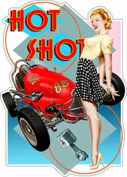 Hot Shot Pin Up