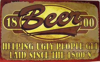 Beer-Helping Ugly People..