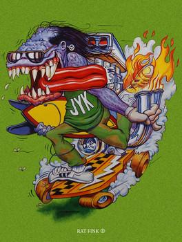 Skateboarding RF Monster