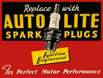 Auto Lite Spark Plugs