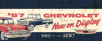 1957 Chevrolet Now on Display