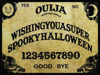 Ouija Board Wishing You a Spooky Halloween
