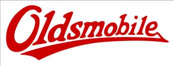 Oldsmobile Text Logo Plasma Cut Metal Sign