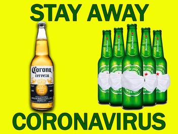 Stay Away Coronavirus