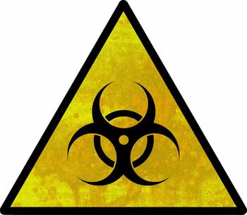 Bio Hazard Safety Sign