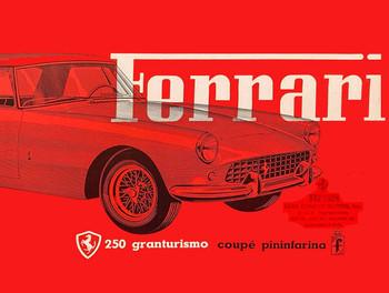 Ferrari Metal Sign