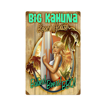 Big Kahuna Beach House Babes, Beers, BBQ