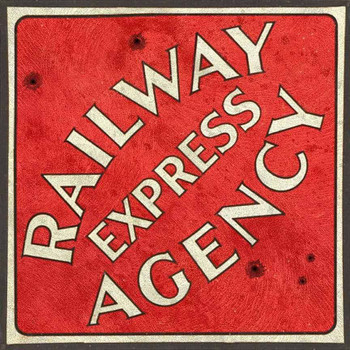 Railway Express Agency Metal Sign by Michael Fishel