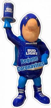 Bud Light Man Begone Virus