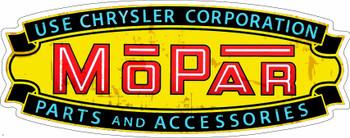 Chrysler Corporation Mopar Parts