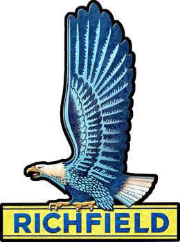 Richfield Eagle Plasma Cut Metal Sign by Michael Fishel