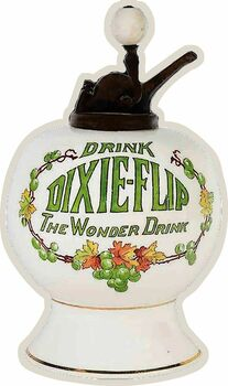 Drink DixieSyrup Dispenser Plasma Cut Metal Sign