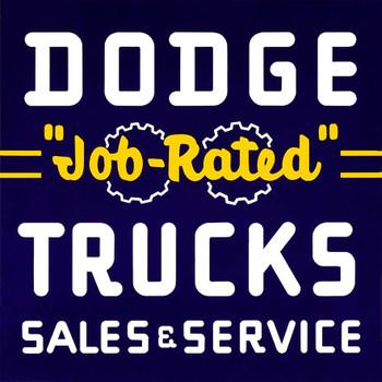 "Dodge ""Job Rated"" Trucks"