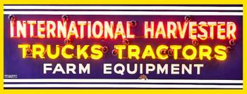 International Harvester Farm Equipment Metal Sign