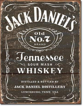 Jack Daniels-Weathered Logo