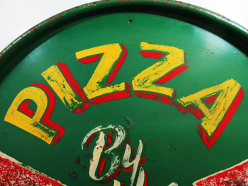 Pizza By The Slice ( hand painted ) Marty Mummert
