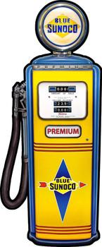 Sunoco Gas Pump by Michael Fishel Plasma Cut Sign