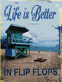 Life is better in Flip Flops MSF473