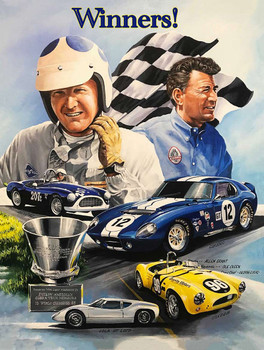 Winners! Carroll Shelby and Allen Grant