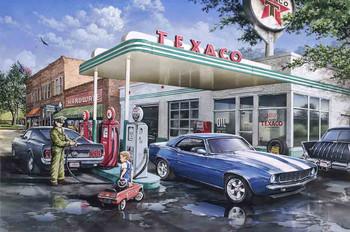 Fill 'er Up at Texaco by Dan Hatala