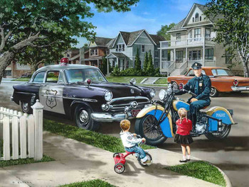 Neighborhood Patrol by Dan Hatala