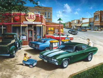 Muscle Car Dreaming by Dan Hatala