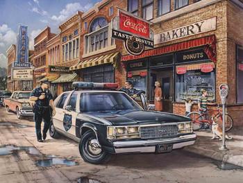 Madison Police by Dan Hatala