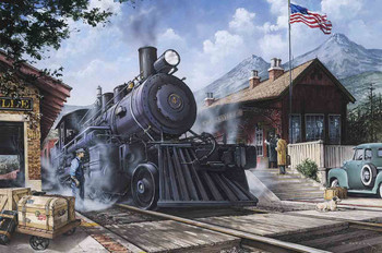 Last Train at the Station by Dan Hatala