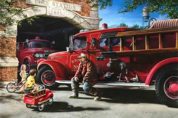 Fire Station by Dan Hatala