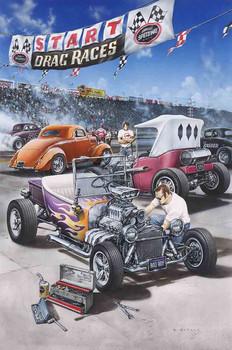 Drag Races by Dan Hatala