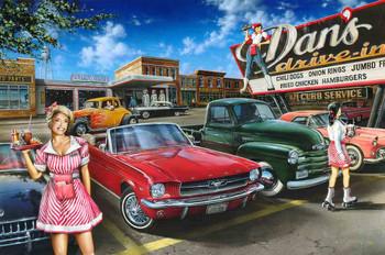 Dan's Drive In by Dan Hatala