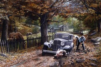 The Olde Depot Road by Kevin Daniel
