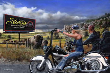 Sturgis Motorcycle Rally by Kevin Daniel