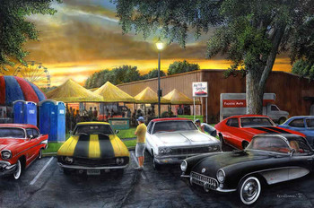 Wishful Thinking at the Car Show by Kevin Daniel