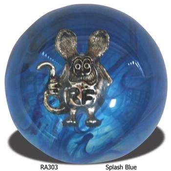Rat Fink Shift Knob Splash Blue