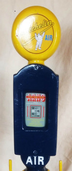 Michelin Air Meter on Stand Cast Aluminum Decorative