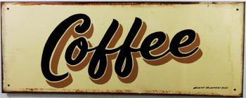 Coffee Original Metal Sign Hand Painted Marty Mummert